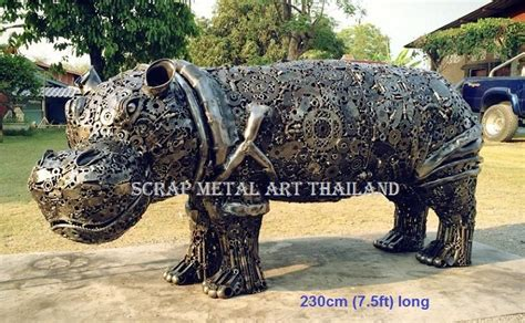 Metal Animal Art Sculpture Statue For Sale