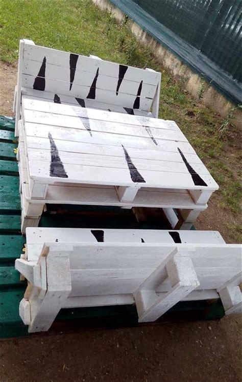 diy bench seat diy pallet bench seat set for 101 pallets