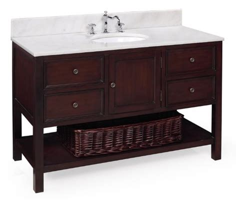 buy yorker 48 inch bathroom vanity chocolate product for