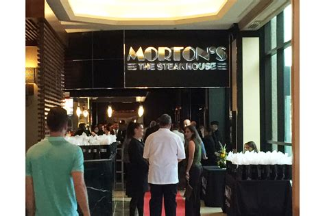 mortons  steakhouse  reopen tuesday jax daily