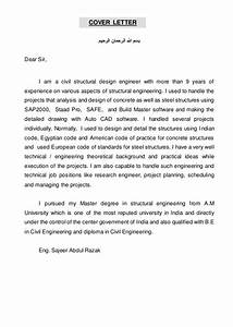 cover letter for structural engineer position - cover letter for cad designer