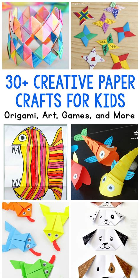 paper crafts  kids  fun projects youll