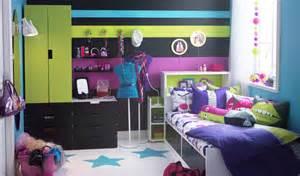 kinderzimmer einrichten ikea jugendzimmer in neonfarben roomido