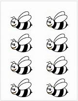 Bee Bumble Bees Template Cut Beehive Printable Templates Abcs Clipart Theme Preschool Crafts Toddlerapproved Activities Flower Honey Craft Printables Outline sketch template