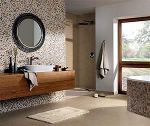 Beige Fliesen Bad : bathroom with natural looking beach interior design ~ Watch28wear.com Haus und Dekorationen