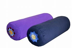 supportive round cotton yoga bolster With bolsters for sale