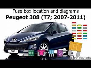Peugeot 308 Fuse Box Cover