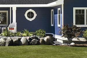 Dark blue siding! Some of the things we do include siding ...