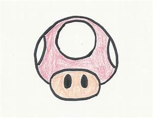 How to Draw a Mario Mushroom: 5 Steps (with Pictures ...