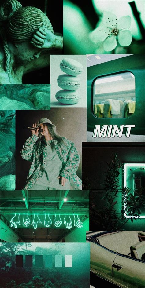mint color aesthetic wallpaper green aesthetic