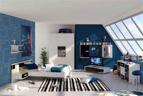 Kinderzimmer Cool Gestalten by Schlafzimmer Dachsr 228 Ge Ideen F 252 R Jungen Blau Wand
