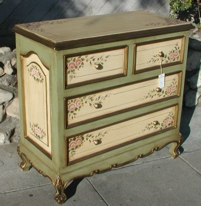 nightstand with drawers renaissance architectural renaissance painted