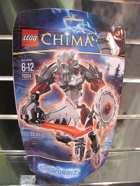Lego Legends Of Chima Chi Worriz Constraction Package By