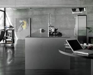 papier peint trompe loeil pour une deco de style industriel With kitchen colors with white cabinets with papier peint trompe l oeil porte