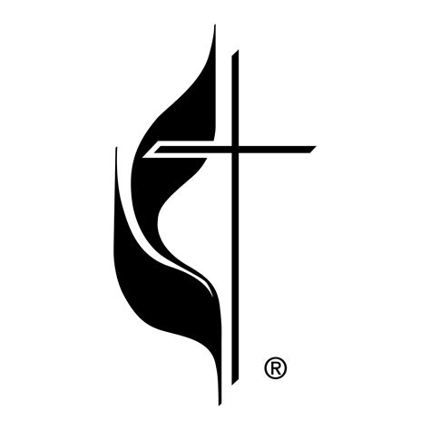jim saffell johns creek umc 690 | cross and flame bw Web identity