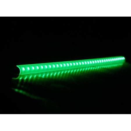 green led light bar logisys 16 quot green led corner light bar lcx16gn