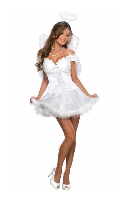 Angel Costume Fancy Adult Christmas Fairy Womens