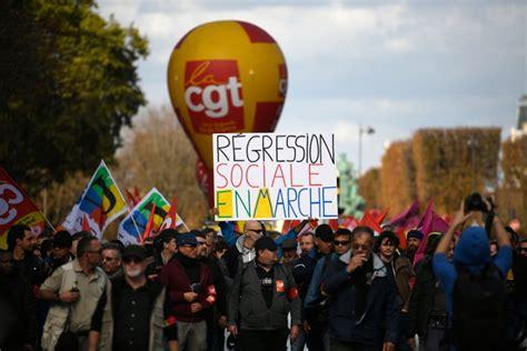 """foto de """"Politique libérale"""" L'intersyndicale appelle à la grève"""
