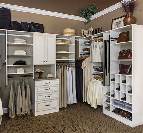 suspended versus floor based closet systems