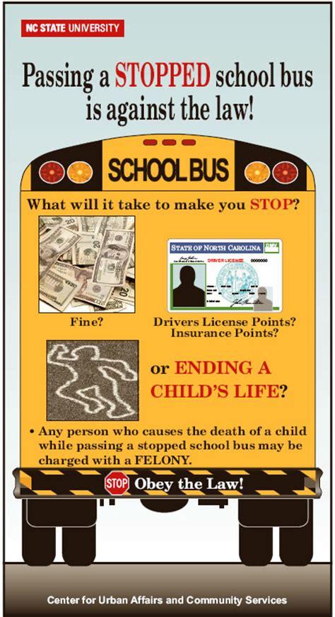 stop arm violation awareness posters