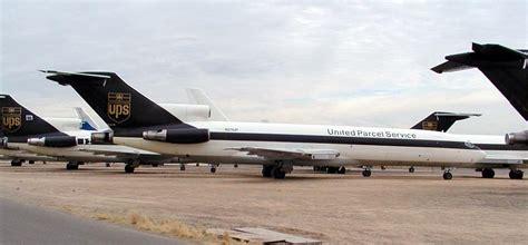 UPS Boeing 727's at GYR