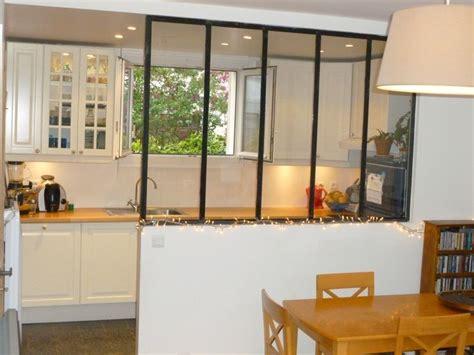 verriere cuisine salon verrière salon et cuisine aménagement intérieur