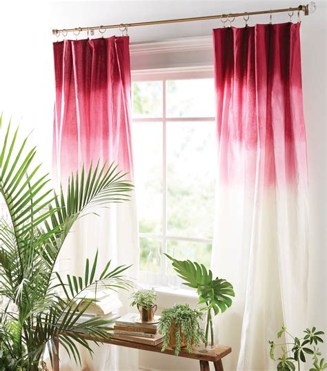 ombre window curtains how to make ombre curtains diy ombre curtains jo