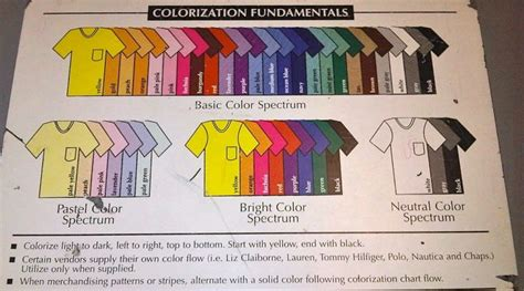 my closet color coordinating guide organize