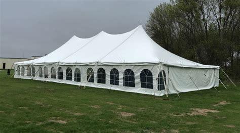 40 x 80 wedding tent at grace community church in