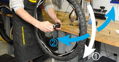 comment monter une chambre a air de velo montage d 39 un pneu tubeless ready probikeshop