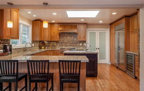 mission style kitchen island craftsman style kitchen with black island craftsman 7539