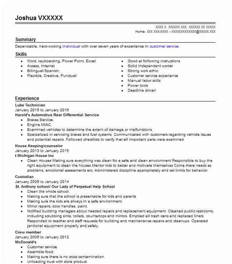 Pest Technician Resume by 4 Pest Resume Exles In Paradise California Livecareer