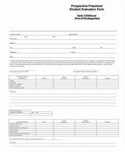 Teacher Forms And Templates Free 39 Student Evaluation Forms In Pdf Excel Ms Word