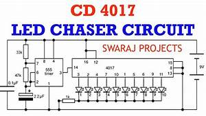 How To Make Led Chaser Circuit