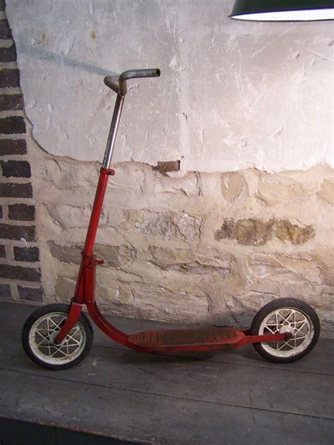 Jouet Ancien Vintage Les Vieilles Ancienne Trottinette Trott Vintage