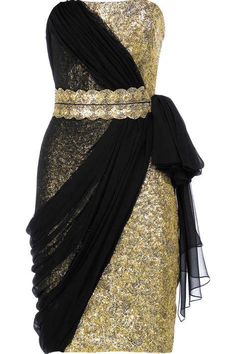 Gold And Black Graduation Dresses   Dresses Trend