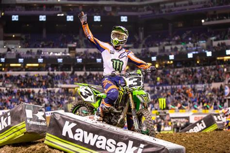 monster energy ama motocross monster energy supercross results indianapolis