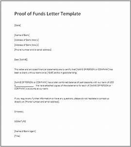 Proof of Funds (POF) - Definition, Example, POF Letter