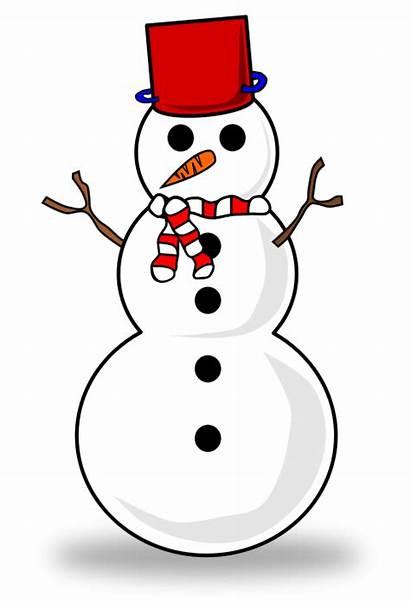 Snowman Clipart Clip Christmas Snowmen Schneemann Face