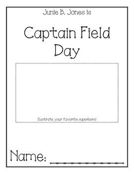 Junie B. Jones is Captain Field Day Comprehension Packet