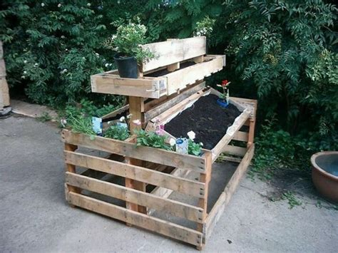 Diy Ideas Using Pallets For Raised Garden Beds-snappy