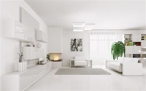White Interior Design : 29 White Modern Living Room, 25 Best Ideas About White