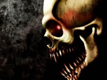 Evil Skull Skulls Wallpapers Scary Skeleton Wicked