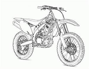 free printable motorcycle coloring pages for kids With honda 125 dirt bike