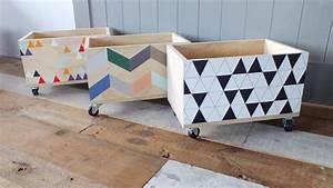 Aufbewahrungsboxen Kinderzimmer Design : toy box for junebug house stuff pinterest kisten rollen und kinderzimmer ~ Whattoseeinmadrid.com Haus und Dekorationen