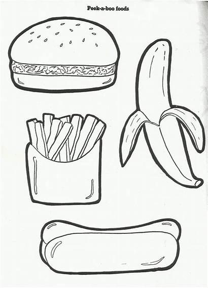 Coloring Preschool Pages Nutrition Printables Squish Picnic