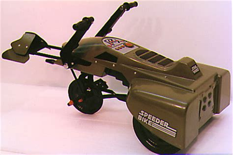 Wars Speeder Car by Ride On Speeder Bike Pedal Car Wars Collectors Archive