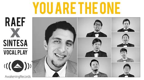 You Are The One Acapella Ft. Sintesa