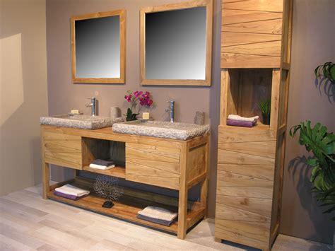 meuble salle de bain avec meuble cuisine étourdissant meuble salle de bain teck colonial avec