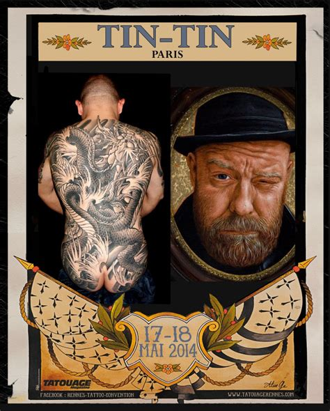 Dermink à La Rennes Tattoo Convention Dermink®